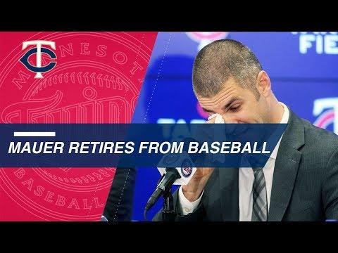 Joe Mauer's retirement press conference