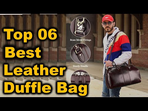 Best Leather Duffle Bag 2020-2021 II Top 10 Best Leather Duffle Bag (Buying Guide)