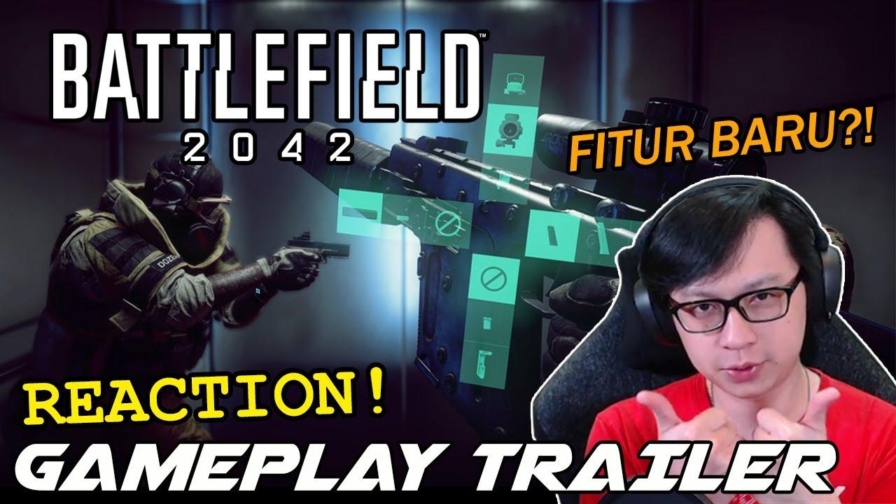 FITUR BARU?! Reaksi dan Ulasan - Battlefield 2042 Indonesia - Gameplay Trailer