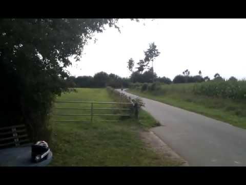 piaggio nrg mc2 extreme 70ccm mit top speed an cam vorbei - youtube