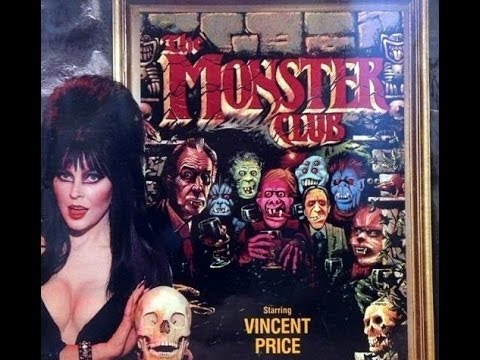 The Monster Club (1981) with John Carradine, Donald Pleasence, Vincent Price Movie