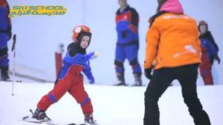 Video Ski Dubai Ski School - Learn How to Ski download MP3, 3GP, MP4, WEBM, AVI, FLV Oktober 2017