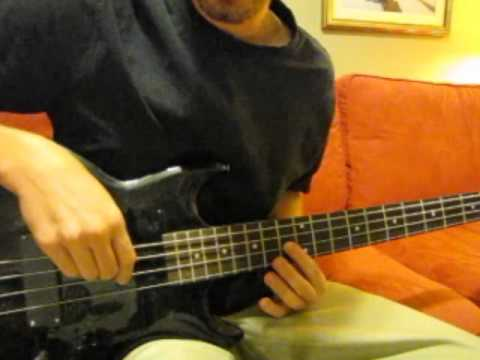 Easy way to play 'Tool - The Pot' intro on bass (better quality)