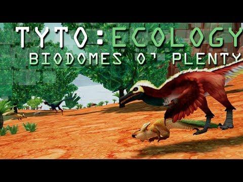Plenty for Voracious Velociraptors!! 🌋 TYTO: ECOLOGY: Biodomes o' Plenty! - Cretaceous Mongolia