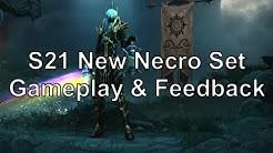 Bone Spear Masquerade Necro - Gameplay & Feedback (New Nec Set for Season 21)