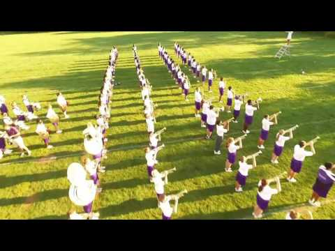 Pickerington High School Central Marching Band -  Aerial Footage Trailer 09.05.2016