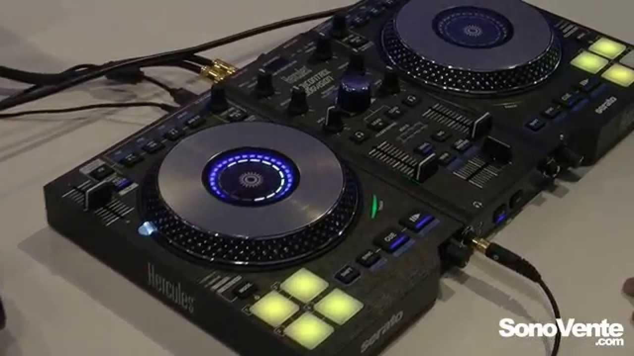 hercules dj control jogvision musikmesse 2015