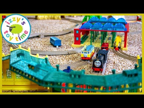 TRACKMASTER TOMY ULTRA MEGA RIDICULOUS TRACK. Fun Toy Trains for Kids with THOMAS AND FRIENDS
