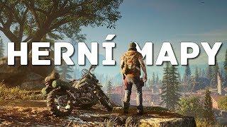 Porovnání největších map ve hrách!