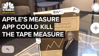 Apple's Measure App Could Kill The Tape Measure | CNBC