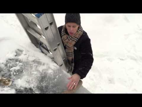How To Melt An Ice Dam On Your Roof Or Gutter - Damn Ice Dam