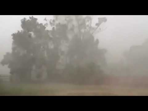 Crazy Weather in QLD Sparks Old man river