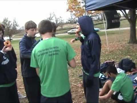 Peoria Notre Dame High School XC 2010 (part 2)