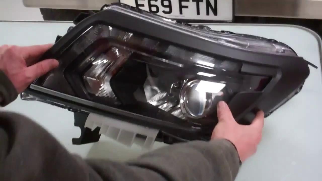 Nissan Navara D40 Headlight Wiring Diagram