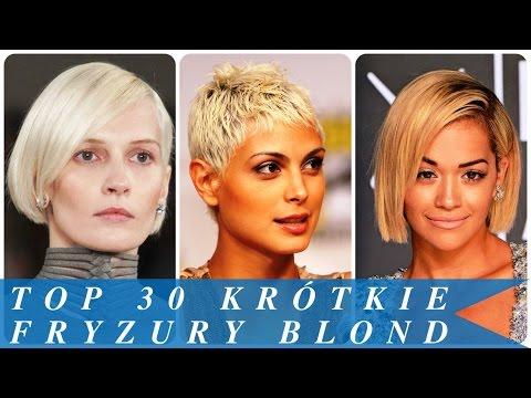 Top 30 Krótkie Fryzury Blond Youtube