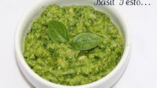 Basil Pesto ~ Popular Italian Sauce