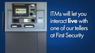 first security bank trust itm video