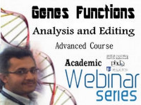 Genes Functions Analysis and Editing