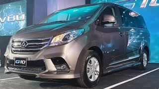 The all-new 2019 Maxus G10 MPV ▪ Philippines