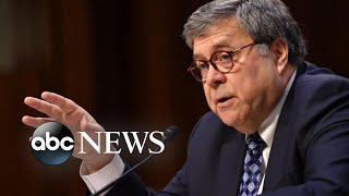Ex-Justice Department officials call for Barr to resign | ABC News