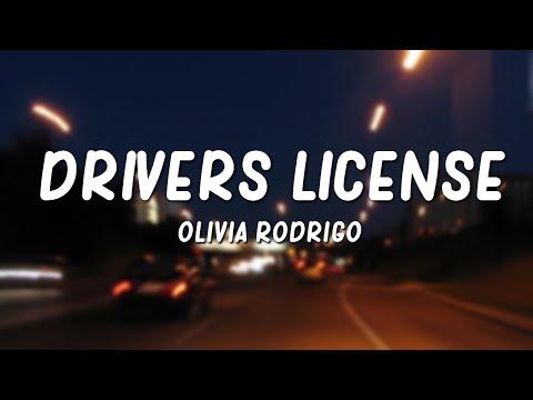 Olivia Rodrigo – drivers license (Lyrics)