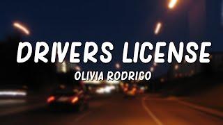 Download Olivia Rodrigo - drivers license (Lyrics)
