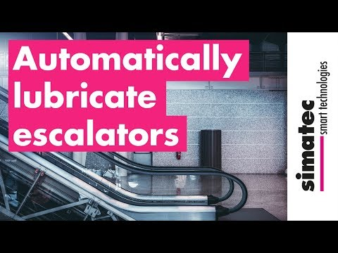 Automatically Lubricate Escalators With Simalube
