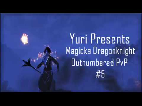 ESO CwC: Magicka DK Outnumbered PvP #5  