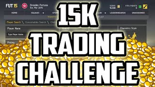 FIFA 15 ULTIMATE TEAM - 15K TRADING CHALLENGE Thumbnail