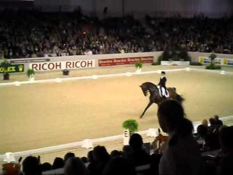 Edward Gal & Blue Hors Romanov. Indoor Brabant 2012, Kur CDI4.