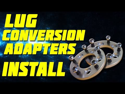 Lug Conversion Adapters Install [The FRS Project]
