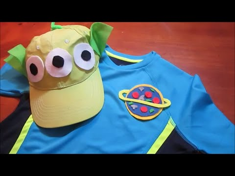 DIY Disney Toy Story Alien Costume | Disneybound Pizza Planet MNSSHP Halloween : planet costumes ideas  - Germanpascual.Com