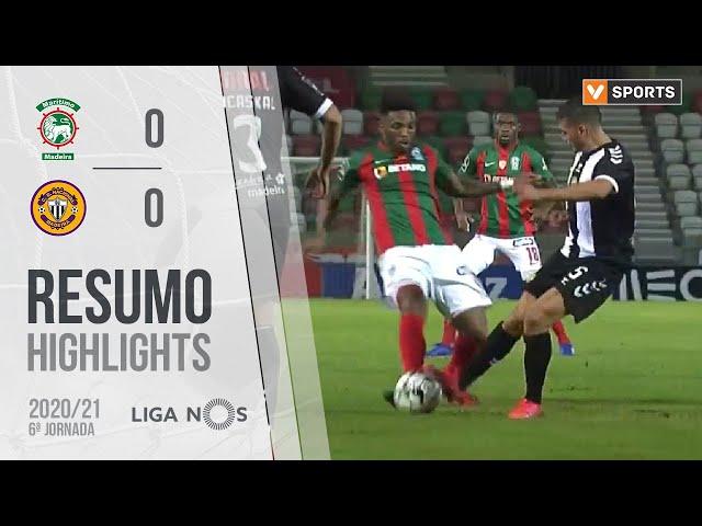Highlights | Resumo: Marítimo 0-0 CD Nacional (Liga 20/21 #6)