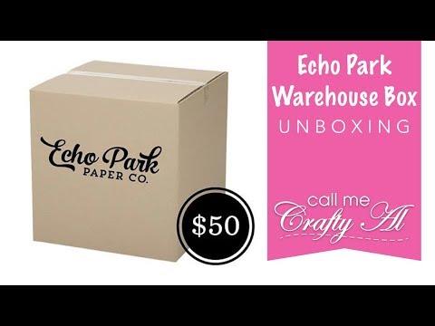 Echo Park Warehouse Box | Unboxing | March 2019