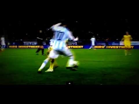 Lionel Messi Amazing Ball Control and Nutmeg vs Romania 05/03/2014