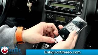 AUX USB Ipod iPhone adapter CLK 1998-2003 Mercedes Benz Enfig D2B-AUX
