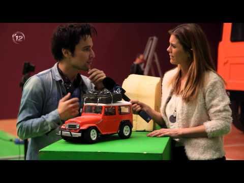 UPC Kanaal 12 - Setbezoek (special effects) bioscoopfilm Wiplala