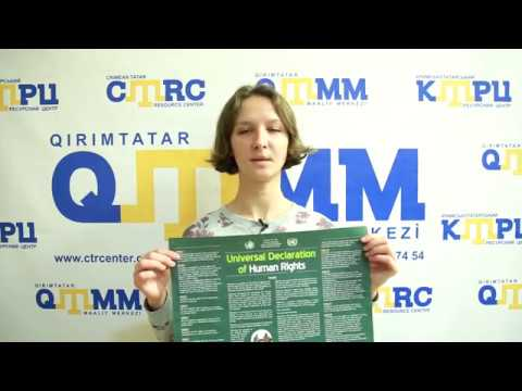 Representatives of Freedom House joined the Stand up for Human Rights campaign (video 30)