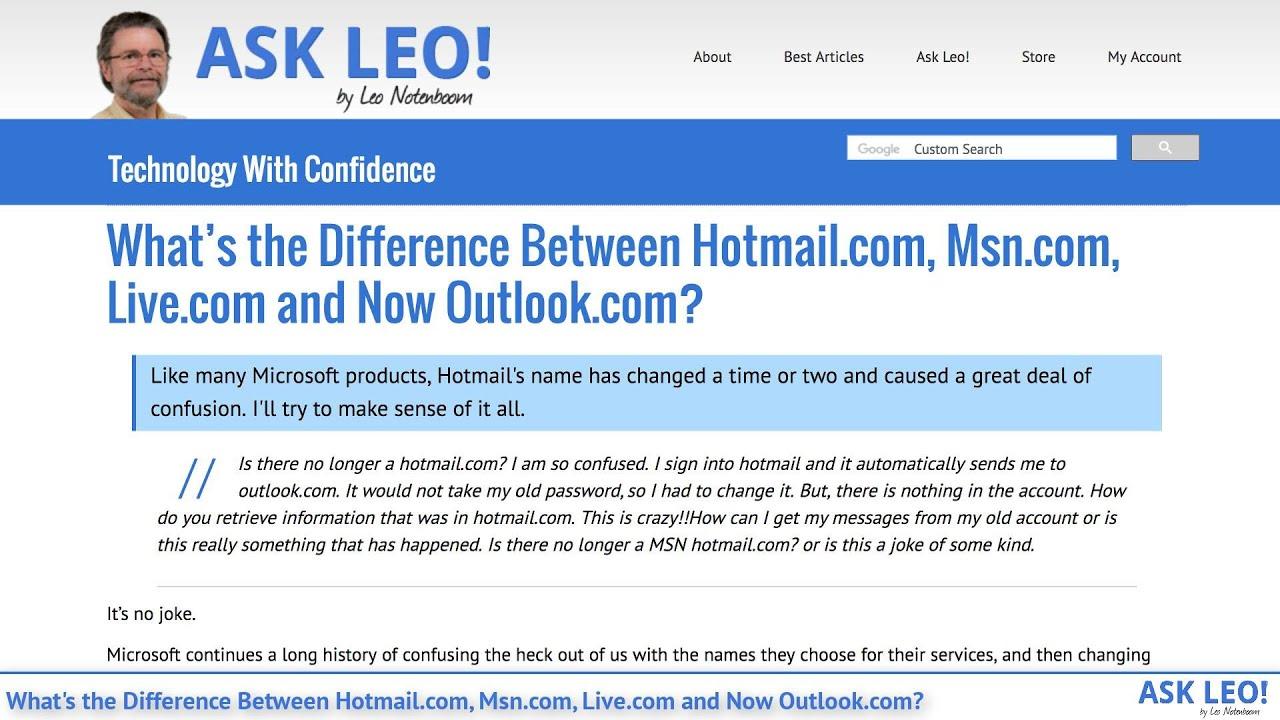 Msn Hotmail Login Uk - Apartment Home Decor