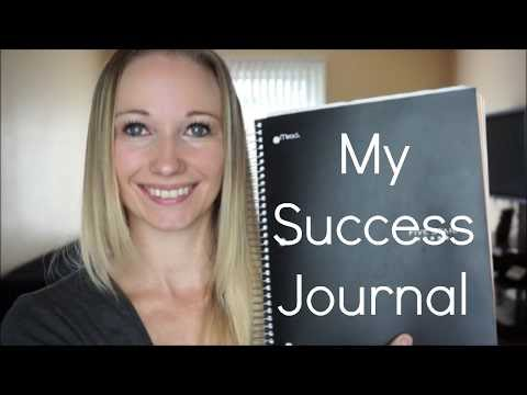 How To Set Up An All-In-One Success Journal   Goal Journal