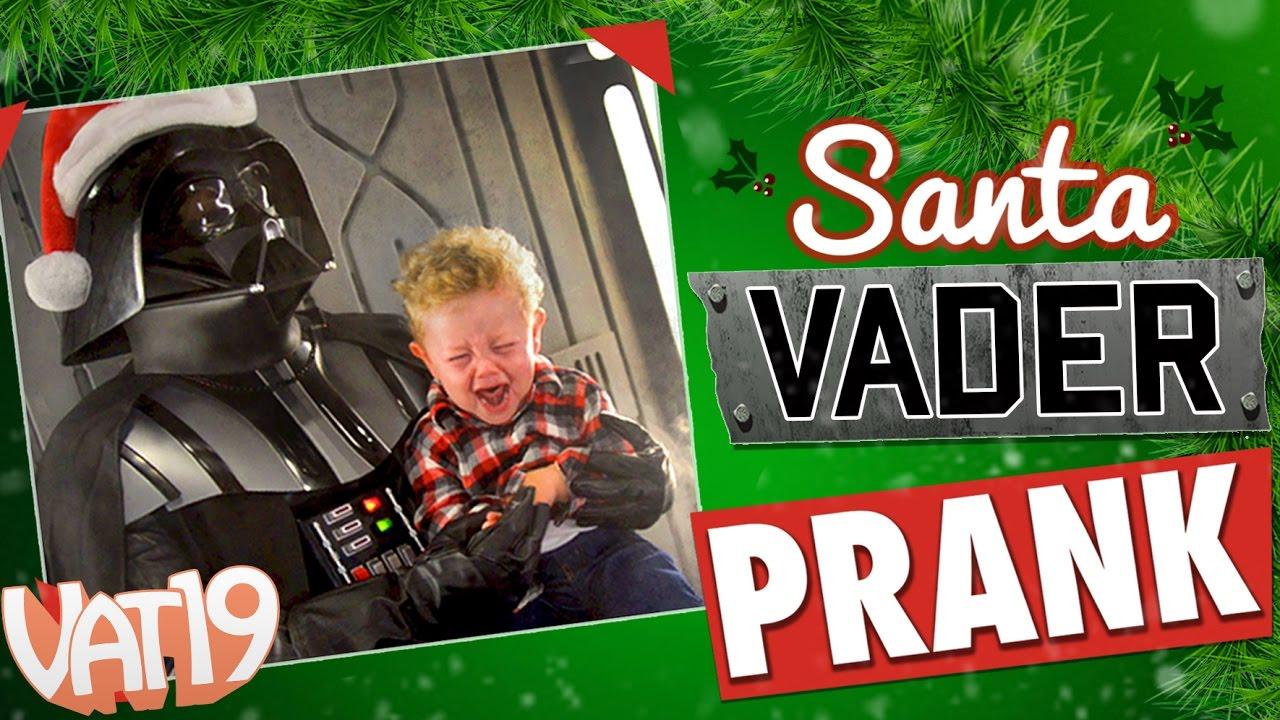 Santa Vader Prank