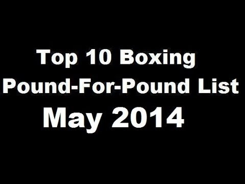 Top 10 Pound-for-Pound Boxing Rankings – May 2014