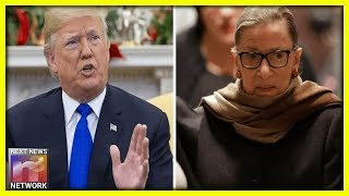 After Trump Sends Message To RBG, He Breaks Silence On BIG PLANS For Supreme Court