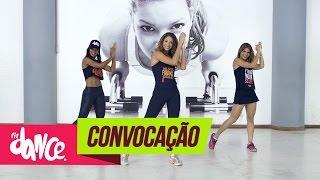 MC Koringa - Convocação - FitDance - 4k   Coreografia