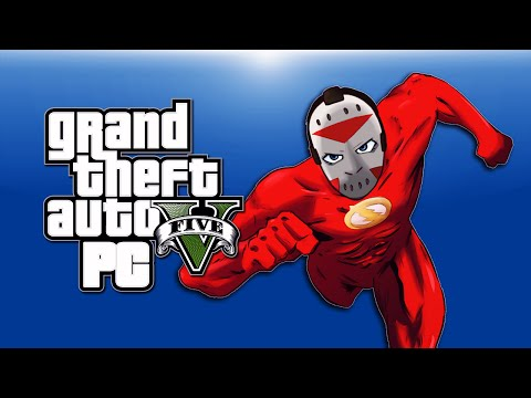 Thumbnail: GTA 5 PC Funny Moments - Flash Mod, Aliens, Zombies, Clowns, Gravity Gun, Telekinesis!)