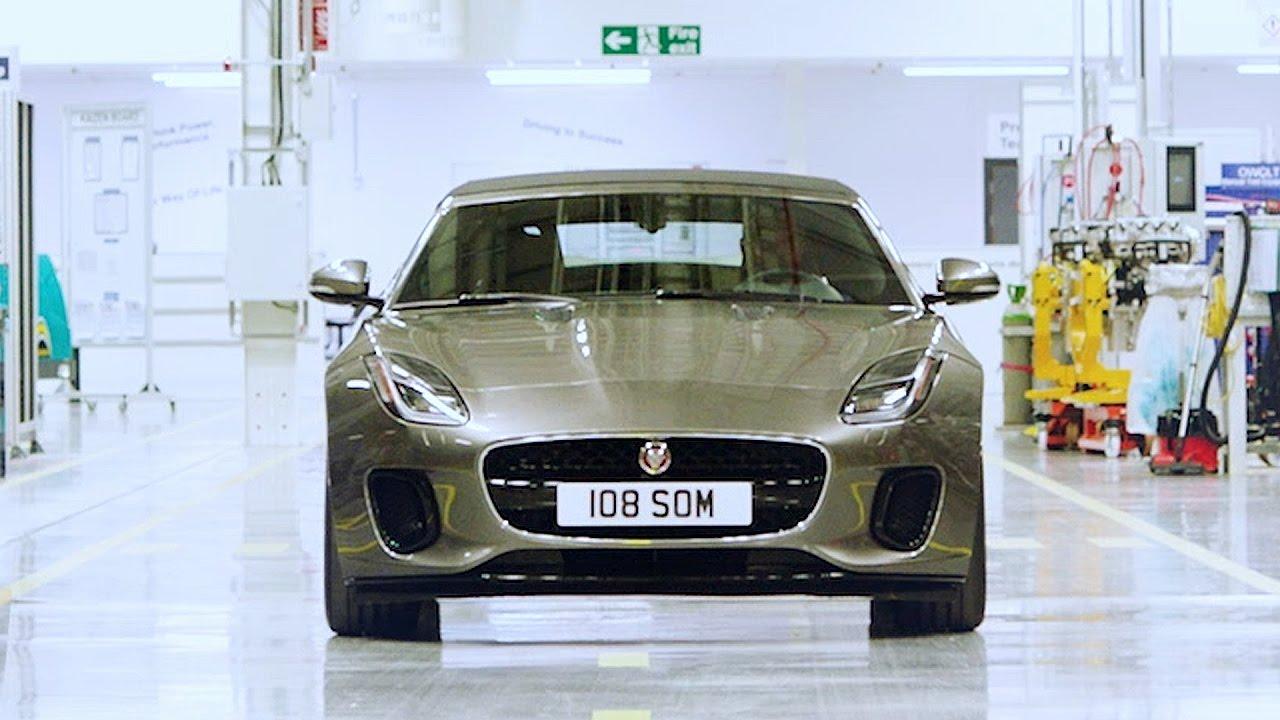 2018 jaguar f type 4 cylinder the new ingenium engine youtube. Black Bedroom Furniture Sets. Home Design Ideas