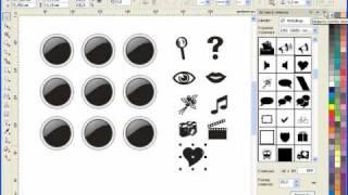 Уроки CorelDRAW:  векторные иконки