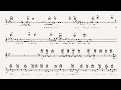 Guitar - In Your Eyes - Peter Gabriel - Sheet Music, Chords, & Vocals