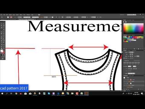 Garments Technical Chart | Illustrator Design | Adobe Illustrator Bangla Tutorial | Tank Top Design