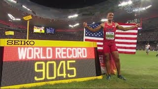 Ashton Eaton sets Decathlon World Record - Universal Sports
